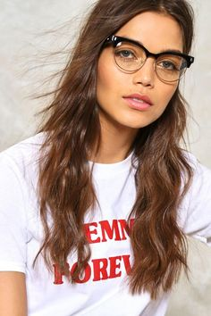 In the Clear Cat-Eye Glassesalternative image