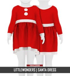 Child Christmas Outfit the sims 4 _ - The Sims 4 Love Life Asia VietNam Sims 4 Toddler Clothes, Toddler Outfits, Kids Outfits, Toddler Christmas Dress, Kids Christmas Outfits, Santa Dress, Santa Outfit, The Sims 4 Pc, Sims Cc