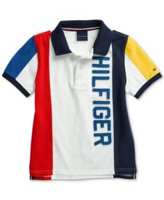 Tommy Hilfiger Adaptive Big Boys Polo Shirt with Magnetic Buttons - Classic White Boys T Shirts, Golf Shirts, Tee Shirts, Cheap Ralph Lauren Polo, Unisex Baby Clothes, Dress With Sneakers, Big Boys, Boy Outfits, Tommy Hilfiger