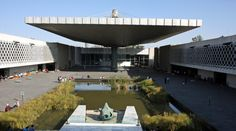 I can't believe I missed this one ... Pedro Ramirez Vazquez designed some of the greatest modernist buildings in Mexico City, including the incredibly epic National Anthropology Museum, the museums at Teotihuacan and Tenochtitlan, buildings at Tlatelolco and the Estadio Azteca.