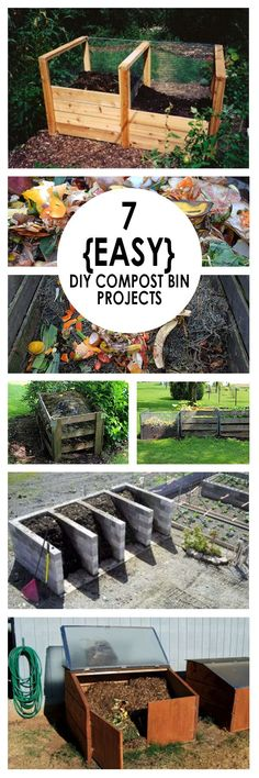 DIY composting, composting hacks, composting tips, popular pin, compost bins, DIY compost bins, compost bin projects.
