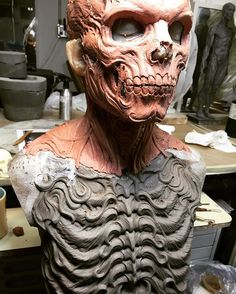 Zbrush, Oil Based Clay, Character Art, Character Design, Sculpting Tutorials, Dark Pictures, Thing 1, Sculpture Clay, Horror Art