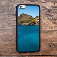 Blue ocean and island Case For IPhone