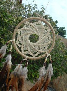 """Filtro dos Sonhos """"Mandala Espiral"""""""