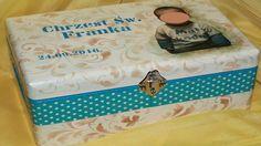 Decoupage Skrzynka ze zdjęciem dla Franka - Tutorial DIY