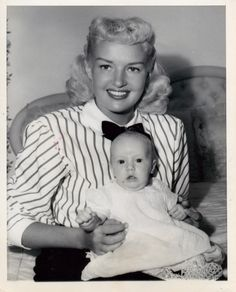 Betty Grable and daughter