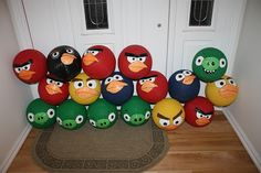 The Epic Angry Birds Party - so many fun ideas here for a party!!