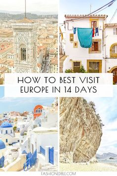 best Europe itineraries | top europe itinerary | 2 weeks in Europe | 2 week Europe itinerary | 2 week European itinerary