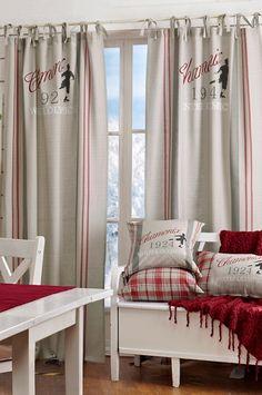 matsal Rustic Christmas, Christmas Ideas, Christmas Inspiration, Sweet Home, Curtains, Living Room, Bedroom, Spaces, Home Decor