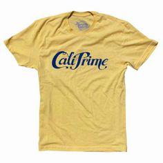 "Cali Prime ""Signature Tee"" #PrimeandProper #Swag #Streetwear #Street #Pic #Model #Fresh #Dope #Rad #Apparel #Tees #CaliPrime #Art #Design #Spring #Clothing #Buy #Money #Stud #Men #Fashion"