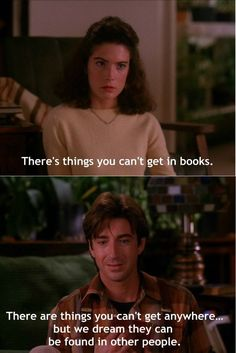 Twin Peaks - Donna Hayward and Harold Smith Twin Peaks 1990, David Lynch Twin Peaks, Twin Peaks Quotes, Between Two Worlds, Verbatim, Film School, Movie Lines, Film Quotes, Books