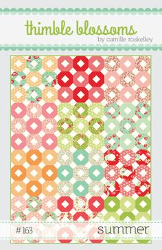 Summer quilt pattern