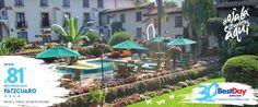 Mansión de Cupatitzio es un hotel de arquitectura colonial ubicada en la ciudad de #Uruapan, Michoacán. Se encuentra rodeado de un pintoresco paisaje de jardines, hermosas cascadas y arquitectura típica mexicana, a sólo 5 minutos del centro de la ciudad. Cuenta con amplias habitaciones estilo clásico, piscina, restaurante, espacio para juntas de trabajo y eventos sociales, así como terraza y estacionamiento. #OjalaEstuvierasAqui #BestDay
