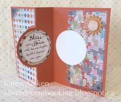 Altered Scrapbooking: New Home Flip Card