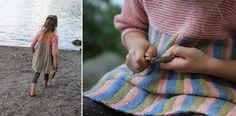 Tivolitunikaen er morsom å strikke og morsom å ha på seg for jent...