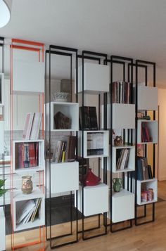 Contemporain Salon by Gaëlle Cuisy + Karine Martin, Architectes dplg
