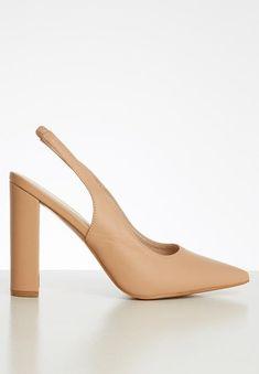 Ella court block heel - blush Superbalist Heels | Superbalist.com High Heels, Shoes Heels, Block Heels, Fashion News, Blush, Leather, Women, High Heeled Footwear, Rouge