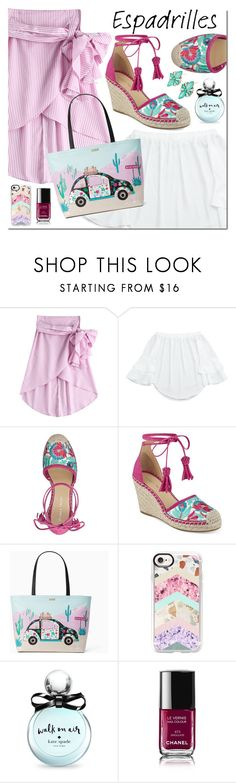 """""""Untitled #3019"""" by mada-malureanu ❤ liked on Polyvore featuring Ivanka Trump, Kate Spade, Casetify and Chanel"""