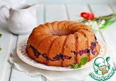 Постный ягодный кекс Маффин, Хлеб, Завтрак, Еда