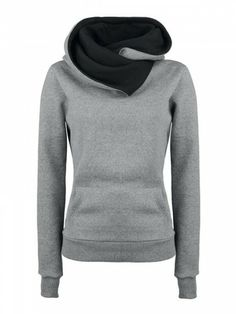 Warm & Comfy -Fashion Loose Sports Hoody from CHICM.COM