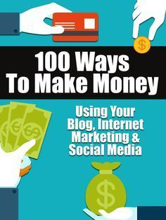 100 Ways To Make Money Using Your Blog, Internet Marketing and Social Media |  No fluff, just a good solid list of ways to make money on the internet including blogging, social media, digital products, online sales, and more. Where possible I have made sure that as many of my suggestions are passive income opportunities rather than requiring a whole bunch of effort after they are set up.