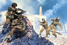 Soldados Desenhado Papéis de parede gratuito (139 fotos) para visão da família, baixar imagens
