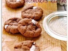 HMで簡単♡ココアのマシュマロクッキーの画像