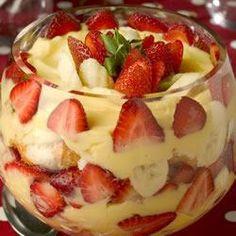 Bagatelle fraises-vanille @ qc.allrecipes.ca