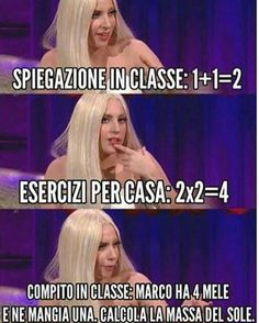 Compito in classe Wtf Funny, Funny Cute, Funny Jokes, Hilarious, Melanie Martinez, Funny Photos, Funny Images, Italian Memes, Serious Quotes