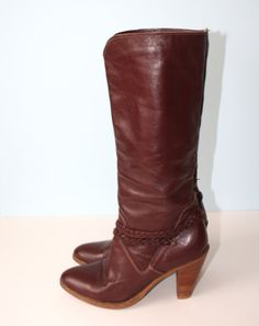 Dingo  Boots // Tall Campus Cowgirl Boots // by GroovyLuvVintage, $26.00