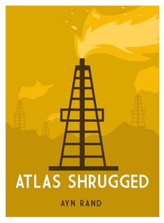 Atlas Shrugged cover by Rob Yeo