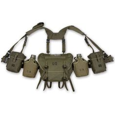 Ww2 Us Army Equipment M36 Bag Belt First Aid Kit And 0.8l Kettle X Camping & Hiking Back To Search Resultssports & Entertainment Type Straps Six Cell Pouch