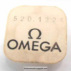 Omega Minutenrad mit Minutenrohr, NOS 4,19mm Part Nr. Omega 520-1224