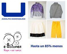 Compra ropa de marca 85% más barata. www.e-botones.com