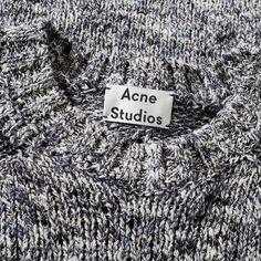 Imbued with a hand-crafted feel, the Konstantin Crew Knit from Acne Studios' SS'16 collection is knitted from a lightweight, multi-coloured yarn in a linen-blend. Styled with a raglan sleeve along with ribbing to the neck, cuffs and hemline.  Cotton & Linen Blend Yarn Summer Weight Raglan Sleeves Ribbed Neck, Cuffs & Hem