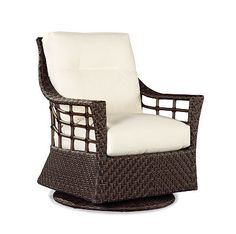 Swivel glider chair - Here are some of the reasons why you should: most recliners are now automated. Lounge chairs and a full walk up to an angle of your Wicker Furniture, Large Furniture, Dining Room Furniture, Home Furniture, Outdoor Furniture, Furniture Ideas, Nursery Glider Chair, Small Swivel Chair, Swivel Rocker Recliner Chair