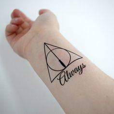 Este inspirado en Harry Potter. | 15 Tatuajes temporales increíblemente románticos