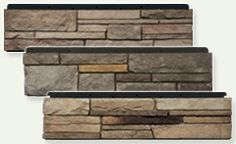 Clad you fireplace surrounds with realistic and beautiful cast stone panels. Faux Stone Veneer, Stone Veneer Fireplace, Faux Stone Panels, Faux Panels, Fireplace Surrounds, Fireplace Design, Brick And Wood, Faux Brick, Interior Window Shutters
