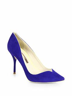 Sophia Webster - Izzy Suede Pumps - Saks.com ABSOLUTELY can't stand how much I love these!