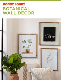 Inspire your space with a touch of botanical beauty. Home Decor Bedroom, Living Room Decor, Bedroom Wall, Hobby Lobby Decor, How To Feng Shui Your Home, Santa Teresa, Indian Home Decor, Home Decor Shops, Decoration