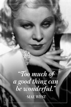 15 Mae West Quotes To Live By