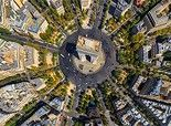 Paris, France • 360 ° Panorama aérienne