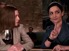 The Good Wife >Julianna Margulies and Archie Panjabi,