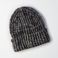 aa4bc6b97aa AE Marled Ribbed Beanie ( 16) ❤ liked on Polyvore featuring accessories