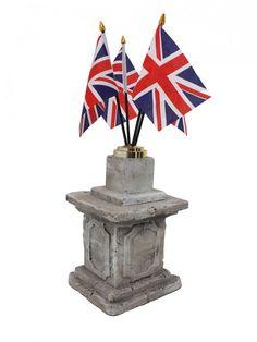 Union Jack Flag Table Centre | James Bond Party Theme | James Bond Party Theming Hire | Event Prop Hire