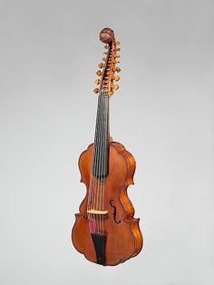 18th century Italian (Bologna) Viola d'amore at the Metropolitan Museum of Art, New York