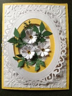 Daisy Card by Stolynn - Cards and Paper Crafts at Splitcoaststampers