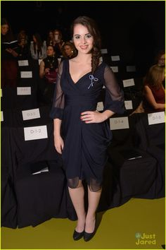 Vanessa Marano: J. Mendel Fashion Show Ladies!