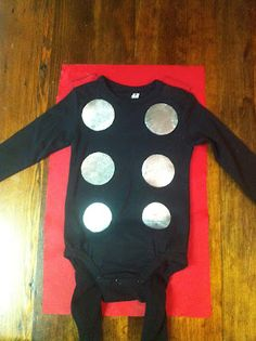 Life Sprinkled With Glitter: Homemade Thor Costume~Infant/Toddler.... adapt for bigger kid