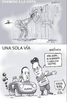 ENEMIGO A LA VISTA/ UNA SOLA VÍA